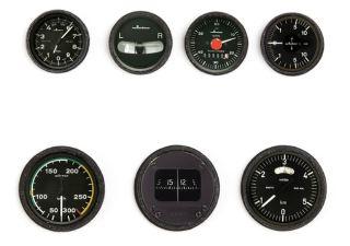 Strumenti moderni per cockpit scala 1/4