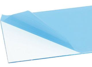 PLASTICA TRASPARENTE   50x25cm 0,8mm SPESSORE PER CAPPOTTINE