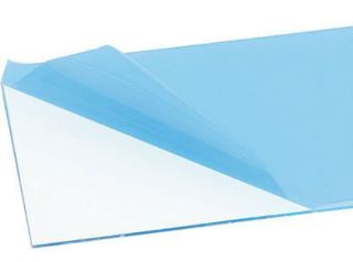 PLASTICA TRASPARENTE  100x50cm 1,0mm SPESSORE PER CAPPOTTINE