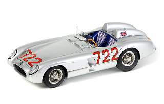 MERCEDES 300 SLR 1955     1/18 W196S MILLE MIGLIA