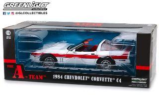 Corvette C4 telefilm A-Team 1984 1/18