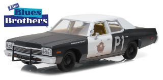 DODGE MONACO BLUESMOBILE  1/24 THE BLUES BROTHERS 1980
