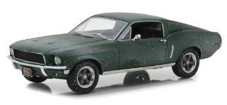 FORD MUSTANG GT STEVE McQUEEN 1/24 1968 FASTBACK VERDE