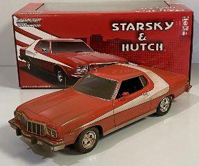 Starsky & Hutch Ford 1976 1/27 Gran Torino versione sporcata
