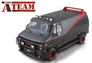 FURGONE A-TEAM SERIE TV   1/43 1983-1987 GMC VANDURA