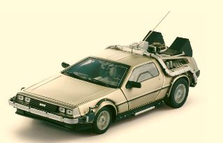 RITORNO AL FUTURO PARTE I 1/18 DE LOREAN BACK TO THE FUTURE