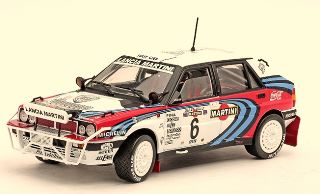 LANCIA DELTA HF INTEGRALE 1/18 n6 WINNER 1991 RALLY KENYA