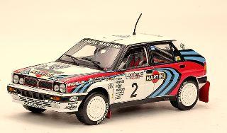 LANCIA DELTA HF INTEGRALE 1/18 16V WINNER LR RALLY 1991