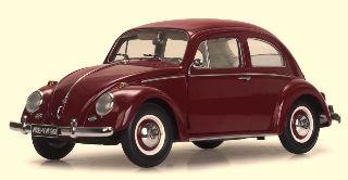 VW BEETLE SALOON ROSSO RUBINO
