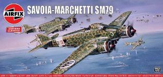 Savoia Marchetti SM79 1/72 Sparviero vintage classic