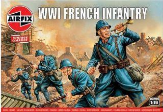 FANTERIA FRANCESE WWI     1/76 ARFIX VINTAGE CLASSIC