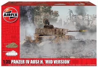 Carro Panzer IV AUSF.H. mid version 1/35