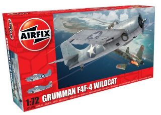 GRUMMAN WILDCAT F4F-4     1/72