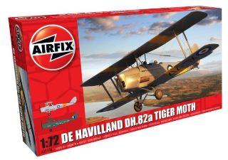 De havilland DH82a Tiger Moth 1/72