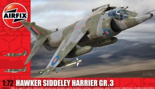 HAWKER SIDDELEY HARRIER   1/72
