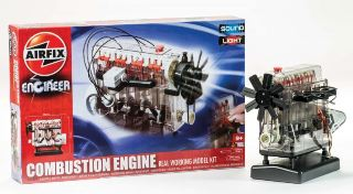 INTERNAL COMBUSTION ENGINE KIT FUNZIONAMENTO A BATTERIA