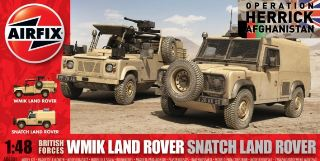 LAND ROVER BRITISH FORCE  1/48