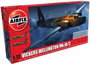 VICKERS WELLINGTON Mk.IA/C 1/72 NUOVO STAMPO