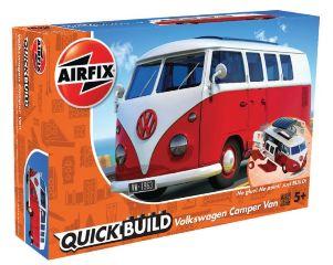 VW CAMPER QUICK BUILD    195mm COSTRUZIONE TIPO LEGO NO COLLA