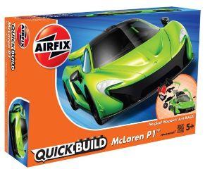 McLAREN P1 VERDE QUICK BUILD COSTRUZIONE TIPO LEGO NO COLLA
