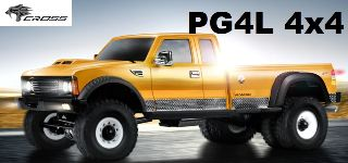 Pick Up  PG4L 1/10 4x4 in kit di montaggio