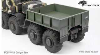 BC8 Bed kit (rear container) cassone posteriore per BC8