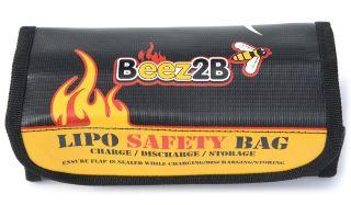Sacca ignifuga per LiPo 185x75x60mm LiPo safety bag