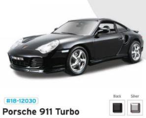 PORSCHE 911 TURBO         1/18