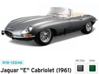 JAGUAR E CABRIOLET 1961   1/18