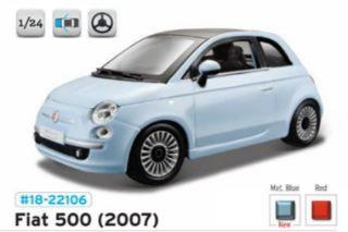 FIAT 500 2007             1/24