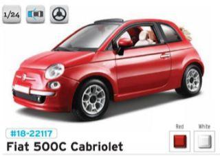 FIAT 500C CABRIOLET       1/24