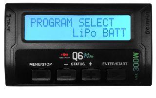Caricabatterie Q6 mini 12v 300W 12A 1-6s peso 95gr