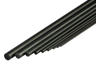 TONDINI DI CARBONIO 2,5mm 10pz