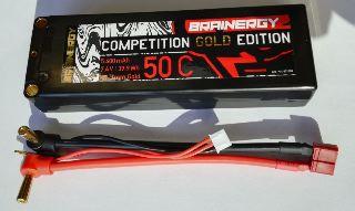 LiPo CAR 7,4v 5400mAh 50c GOLD