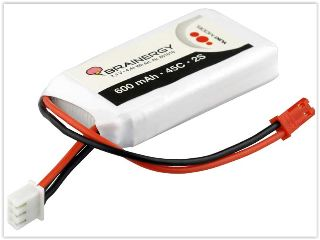 LiPo Brainergy 7,4v 600mAh 45C