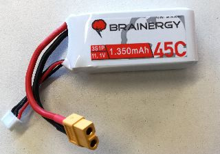 LiPo Brainergy 11,1v 1350m 45C