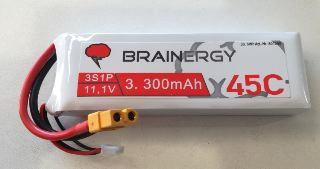 LiPo Brainergy 11,1v 3300mAh