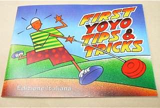 LIBRO FIRST YOYO TIPS & TRICKS