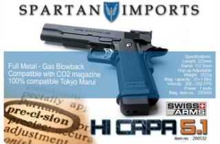 SWISS ARMS HI-CAPA 5.1 A GAS