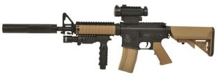 COLT M4 CQB BLACK & DARK EARTH