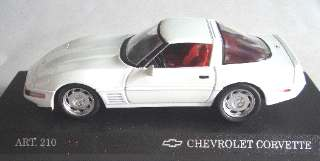 CORVETTE ZR 1 COUPE'WHITE 1/43