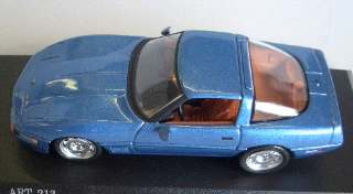 CORVETTE ZR 1 COUPE'BLU   1/43