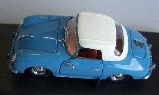 PORSCHE 356A CABR.S.TOP BLU/43