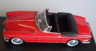 BMW 503 CABRIO RED        1/43