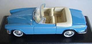 BMW 503 CABRIO LIGH BLUE  1/43