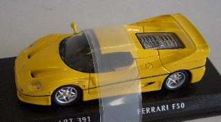 FERRARI F 50 COUPE YELLOW 1/43