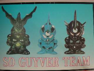 GUYVER TEAM kit in vinile   SD