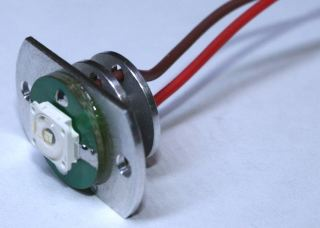 LED 1,5W CON FLANGIA     VERDE