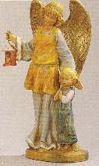 ANGELO CUSTODE tipo legno 17cm