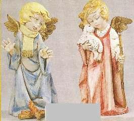 ANGELI INVERNALI 20,5cm    1pz